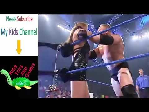 WWE brock lesner vs stephanie mcmahon sexiest match