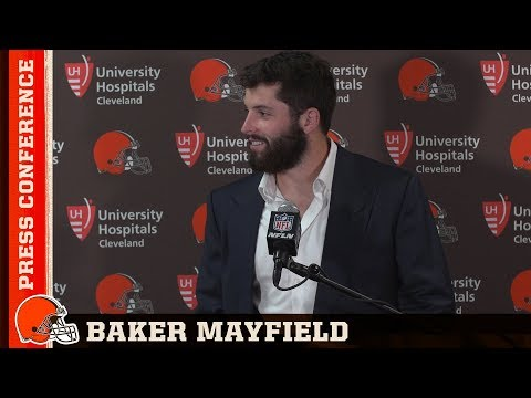 Baker Mayfield Postgame Press Conference 08/09