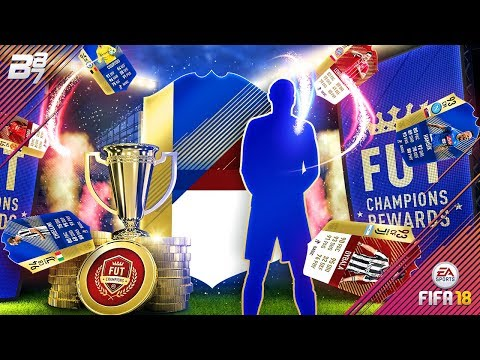 RED MONTHLY REWARDS! FUT CHAMPIONS REWARDS! | FIFA 18 ULTIMATE TEAM