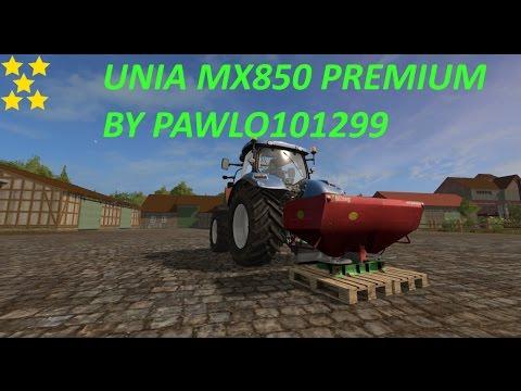 Unia MX850 Premium by pawlo101299