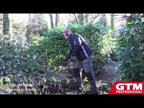 Tocator crengi lemn resturi vegetale GTS 900