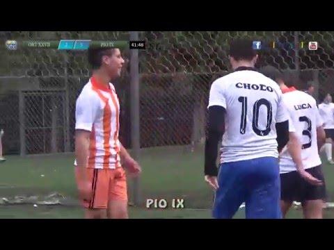 2 ORT XXVII vs PIO IX 6 - 5a fecha A - zona Camp -  15-05-2016