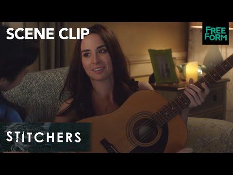 Stitchers | Season 3, Episode 3: Amanda And Camille Play Guitar | Freeform