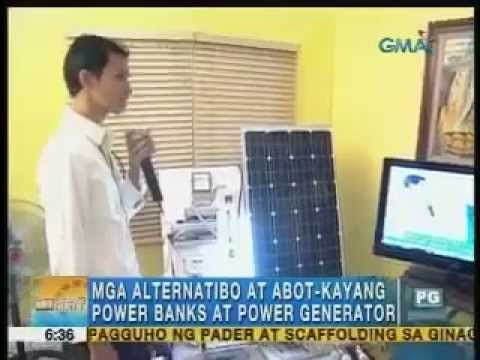 Affordable power banks and power generators   Unang Hirit