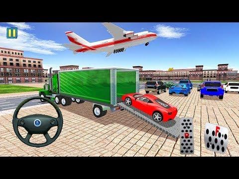 Juego de Carros para Niños - Avión Transportador