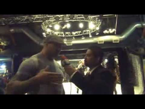 Dave Batista - WWE and MMA fighter Dave Batista interview's with Fantv Host Ricky Lagumbay at Cung Les Born To Fight.