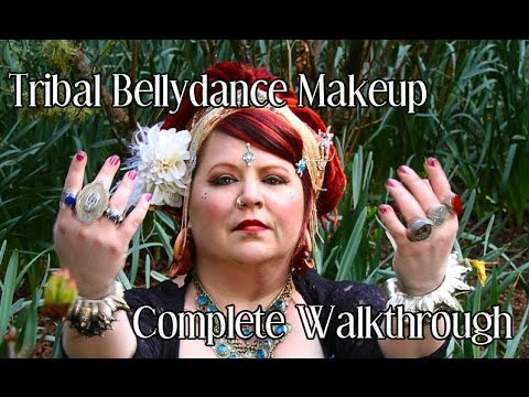 Video ATS / Tribal Bellydance Makeup Tutorial download in MP3, 3GP, MP4, WEBM, AVI, FLV January 2017