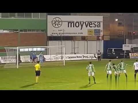 Portero Rui parando penalty en el derby Ourensano, Ourense CF 0 CD Arenteiro 1