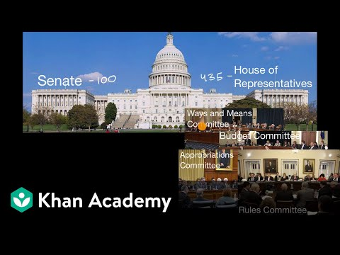 How A Bill Becomes A Law Video Khan Academy