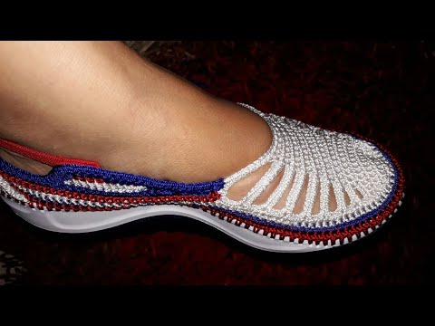 ZAPATO MODELO MARYLUZ TEJIDO EN CROCHET Https://youtu.be/A-rZoAVcJIk    Https://youtu.be/A-rZoAVcJIk