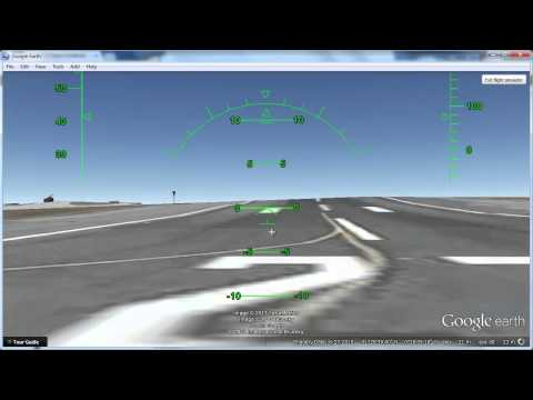 how to control plane in google earth
