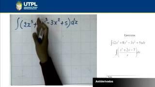 UTPL ANTIDERIVADAS [(ECONOMÍA)(CÁLCULO II)]