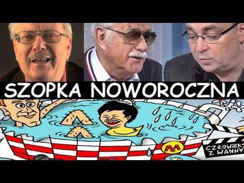 Szopki noworoczne - 2012/2013 - Szopka w gazecie