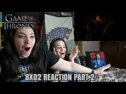 "GAME OF THRONES 8X02 ""A KNIGHT OF THE SEVEN KINGDOMS"" REACTION (PT 2/3)"