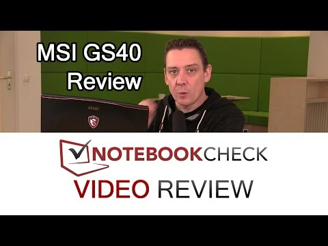 MSI GS40 6QE Phantom detailed review and test results.