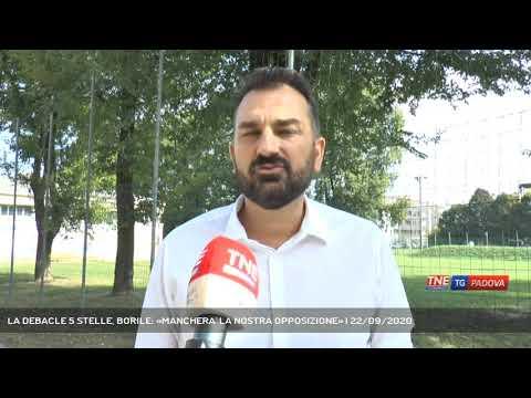 LA DEBACLE 5 STELLE, BORILE: «MANCHERA' LA NOSTRA OPPOSIZIONE» | 22/09/2020