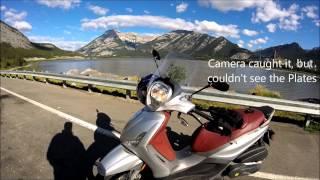 6. Piaggio BV 350 Banff Day Trip
