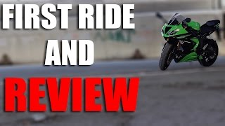 2. 2013 Kawasaki Ninja 636 Review