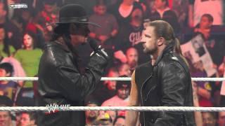 Video Raw: Shawn Michaels interrupts Triple H and The Undertaker MP3, 3GP, MP4, WEBM, AVI, FLV Juni 2019