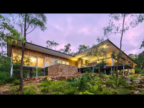 Design your own home western australia 768 mb wallpaper modern new home in bush setting western australia features teak local stone and concrete floors malvernweather Choice Image