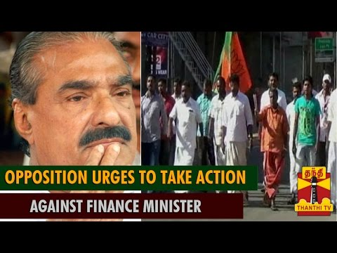 Bundh in Kerala : Opposition Parties Urges to take Action Against Kerala Finance Minister K.M Mani