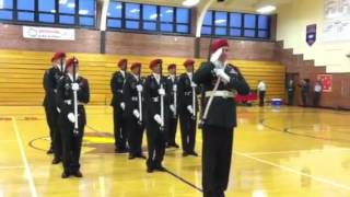 1st place Armed Drill Team South High Army JROTC