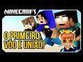 Minecraft Guerra: ORIGENS! PRIMEIRO VÔO E UNIÃO!! #5 Ft (Pac e JV)