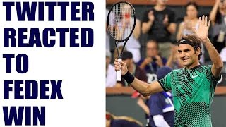 Roger Federer breezed past Rafael Nadal to beat his great rival 6-2 6-3 and set up up an Indian Wells quarter-final with Nick...