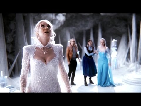 """Once Upon a Time 4x10 """"Shattered Sight"""" - The Snow Queen Sacrifices Herself"""