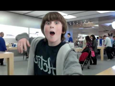dancing at the apple store - If you like the song download it here!: http://bit.ly/Riz-DWM **NO COPYRIGHT INFRINGEMENT INTENDED** Song: Dance With Me (feat. Pitbull) Artist: Riz Here is ...