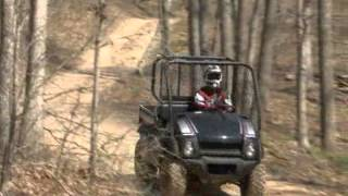10. 2010 Kawasaki Mule 610 4x4 XC and Trans4x4 Diesel Test