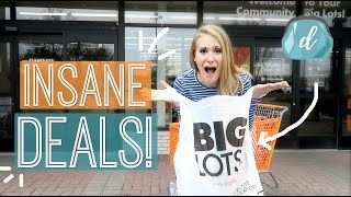 Why you NEED to shop at Big Lots! 😱🤯 (not sponsored)