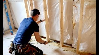 How to Frame a Basement Wall