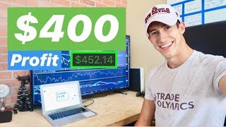 How To Make $400 A Day Trading Stocks
