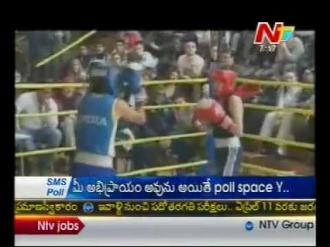 Mary Kom and Sarita win gold