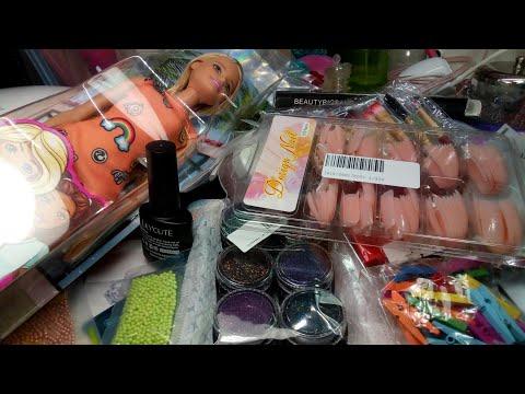 Uñas decoradas - Mega haul uñas, maquillaje y mas/ compras variadas