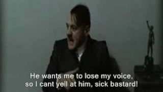 Hitler is asked to yell at Gunsche