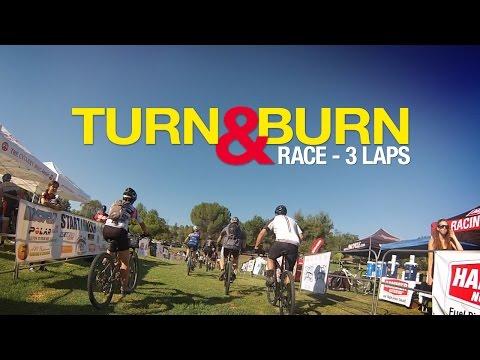 Turn and Burn Endurance Race – First 3 Laps Mountain Biking GoPro – 2014