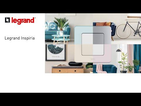 Видео 673830 Legrand INSPIRIA Белый Информационная розетка RJ 45 - категория 6 - UTP