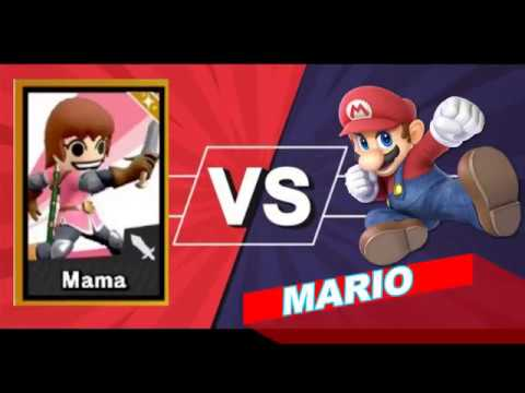 Super Smash Series: Ultimate Championship || Cooking Mama Vs Mario