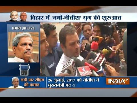 Nitish Kumar has done no wrong, people are backing him, says Prabhat Jha