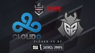 Cloud9 vs G2 - ELEAGUE Premier 2017 - map1 - de_cobblestone [Crystalmay, sleepsomewhile]