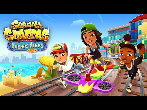 🇦🇷 Subway Surfers World Tour 2018 - Buenos Aires (Official Trailer) (видео)