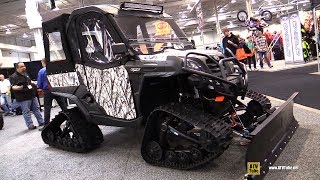 6. 2019 CfMoto U-Force 800 Winter Edition Utility ATV - Walkaround - 2018 Toronto ATV Show