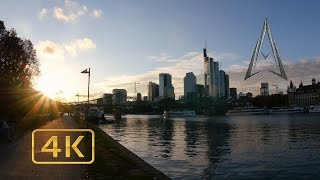 Frankfurt am Main Germany  city pictures gallery : FRANKFURT AM MAIN in 4K | GERMANY