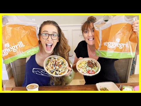 Vegan Mukbang With My Mom!