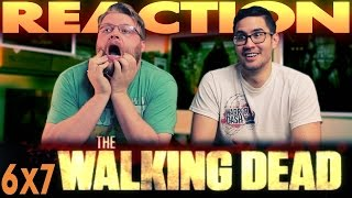 """The Walking Dead 6x7 REACTION!! """"Heads Up"""""""