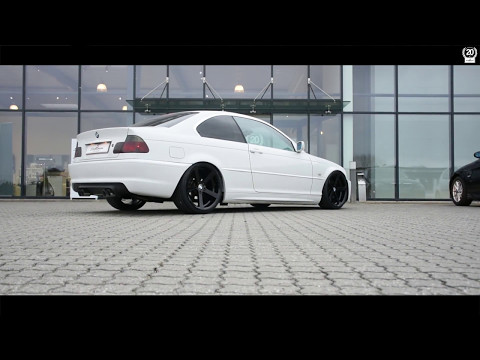 [Exhaust sound] BMW E46 323CI w/ original BMW M3 Supersprint silencer + Schmiedmann header