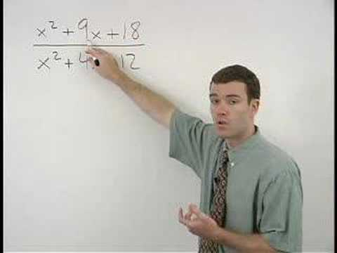 rational - For a complete lesson on simplifying rational expressions, go to http://www.MathHelp.com - 1000+ online math lessons featuring a personal math teacher inside...