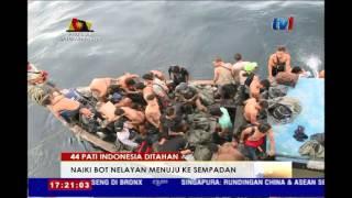 Pati Indonesia  City pictures : 44 PATI INDONESIA DITAHAN - NAIKI BOT NELAYAN MENUJU KE SEMPADAN [29 APR 2016]